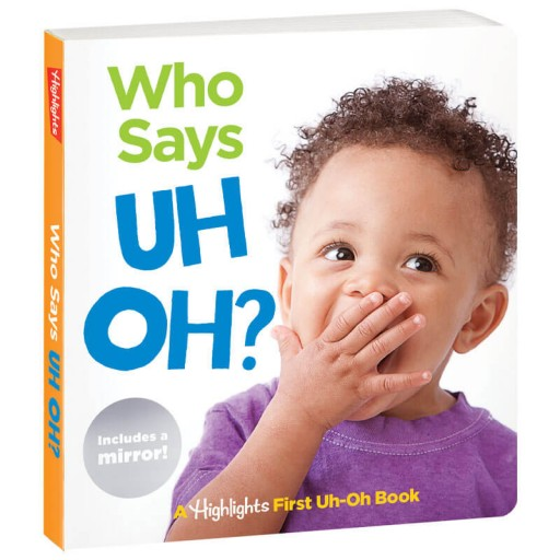 Who Says Uh Oh Book