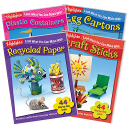 Look What You Can Make Craft Books 4-Book Set Vol. 2