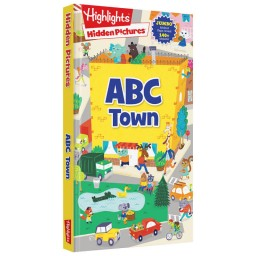 Hidden Pictures ABC Town board book