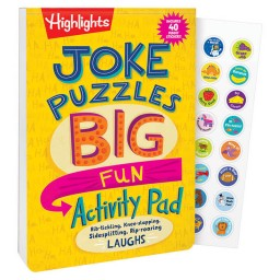 Joke Puzzles: Big Fun Activity Pad