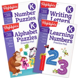 Kindergarten Learning Practice Pads