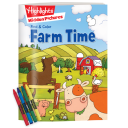 Find and Color Hidden Pictures Farm Time