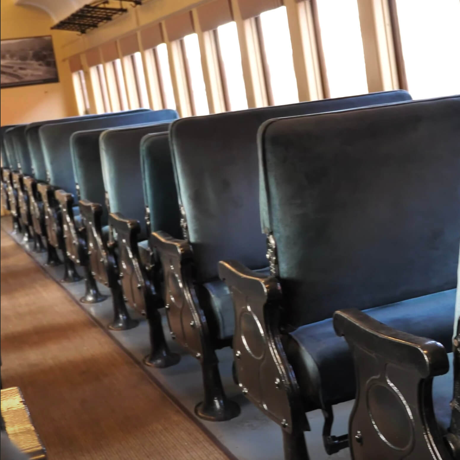 Ever Wonder About the Inside of a Passenger Train?