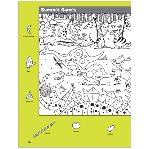 Hidden Pictures Dinosaur Puzzles Highlights For Children