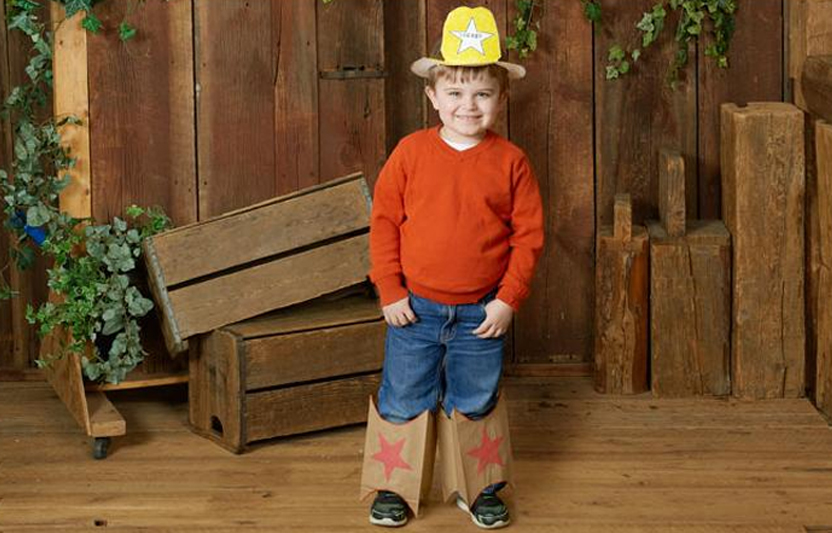 Costumes like these easy-to-make cowboy boots and hat are perfect for when  sc 1 st  Highlights & DIY Cowboy Costume for Kids | Highlights Your Child u0026 You