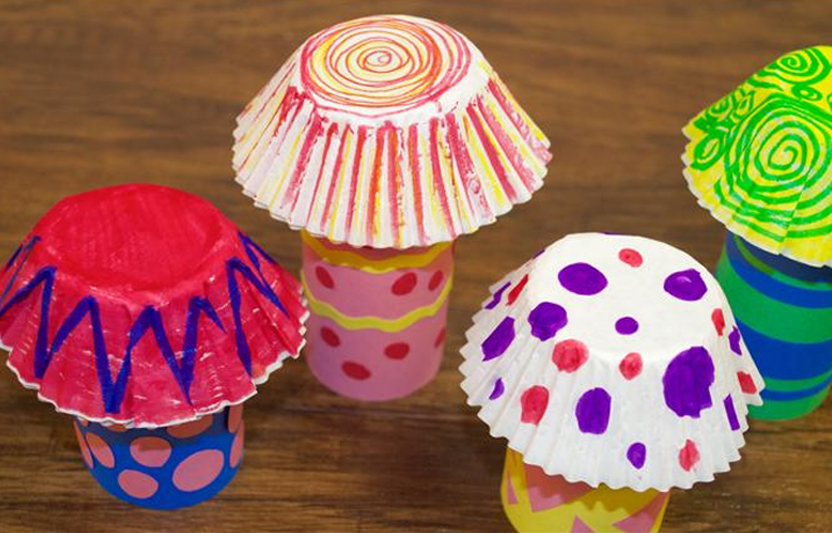 Spring Mushroom Craft For Kids Highlights Your Child You