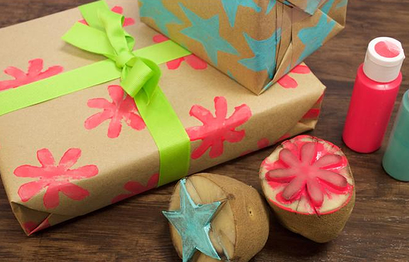 Homemade Wrapping Paper For Kids Highlights Your Child You