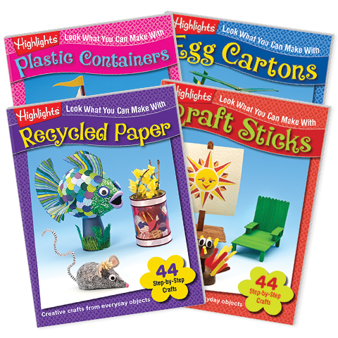 Look What You Can Make Craft Books 4 Book Set Vol 2 Highlights