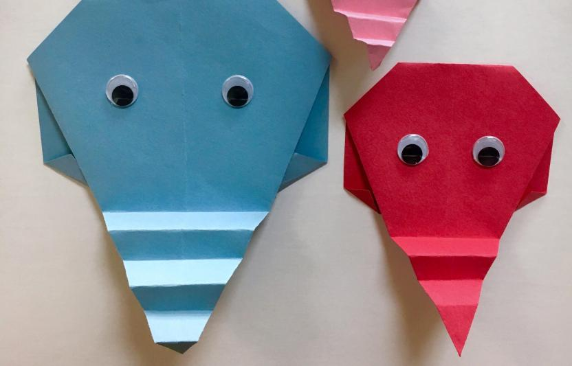 How to make a Paper Elephant: Easy Origami Elephant Instructions | 533x832