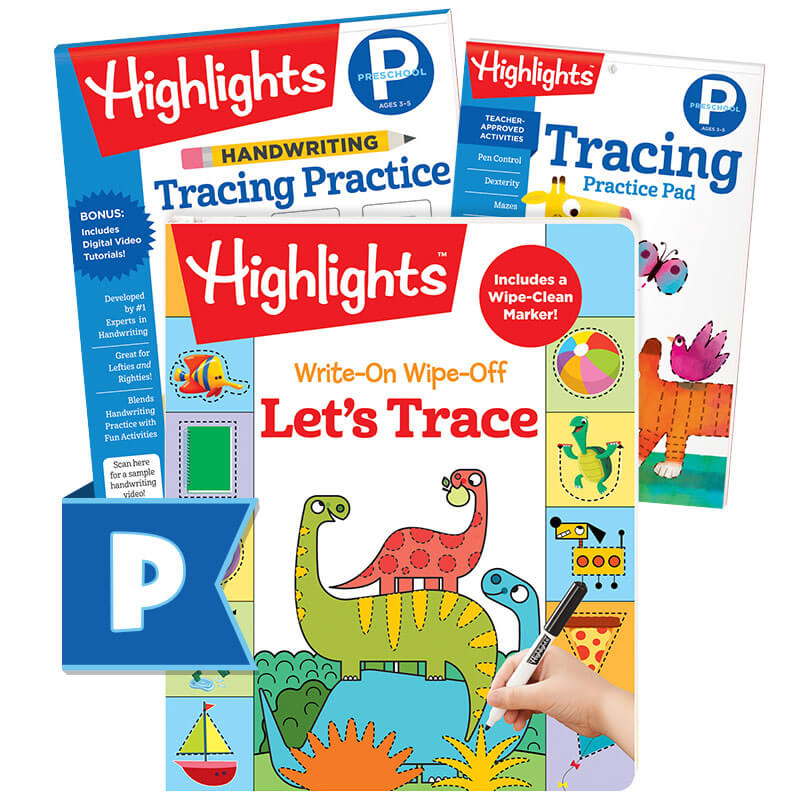 Tracing Learning Pack Highlights For Children